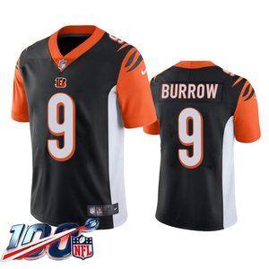 Cincinnati Bengals Joe Burrow Black Jersey